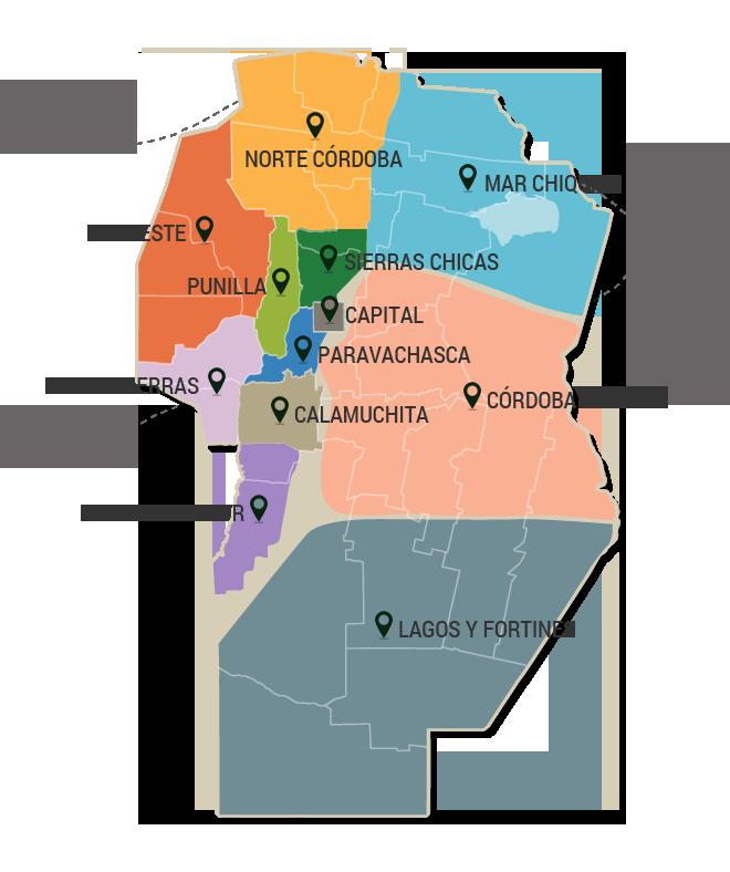 ALOJAMIENTOS EN RIO DE LOS SAUCES, CORDOBA, HOTELES